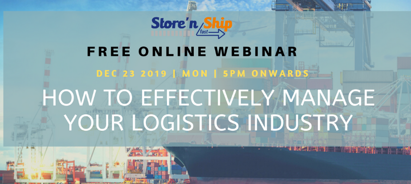 EFFECTIVELY MANAGE YOUR LOGISTICS INDUSTRY