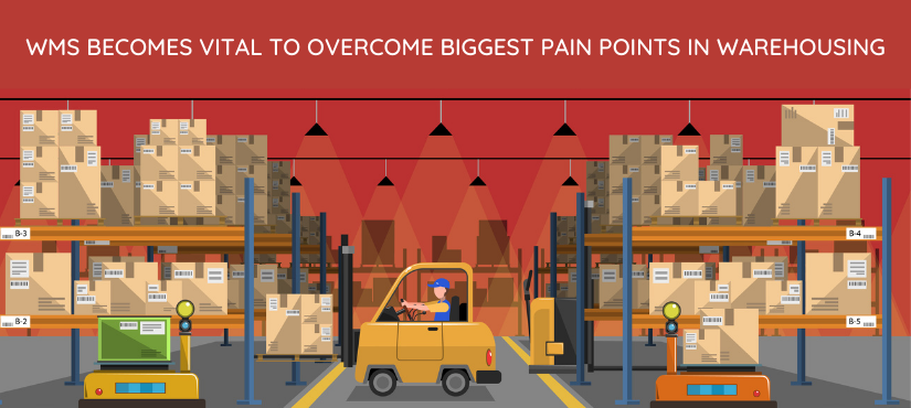 Warehouse Management System becomes vital to overcome biggest pain points in warehousing